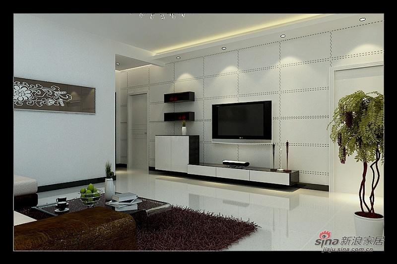 简约 二居 客厅图片来自用户2558728947在细品清简生活56的分享