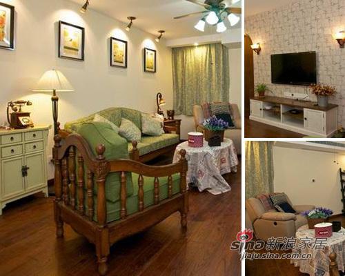 简约 二居 客厅图片来自用户2737782783在新婚夫妇翠绿60平简约婚房90的分享