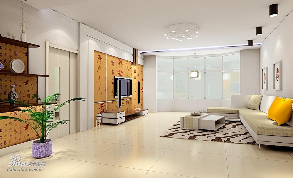 简约 二居 客厅图片来自用户2557010253在方庄6号BCGH户型设计鉴赏16的分享