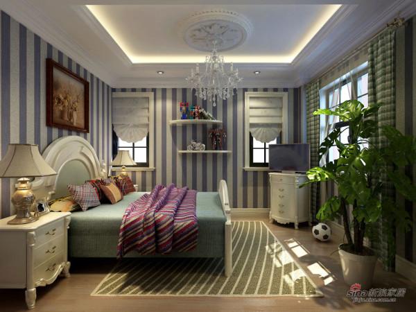 欧式 别墅 卧室图片来自用户2772873991在麦卡伦地211平欧式风格案例欣赏21的分享