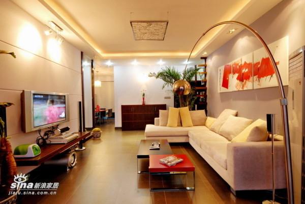 简约 三居 客厅图片来自用户2739378857在善缘人家13的分享