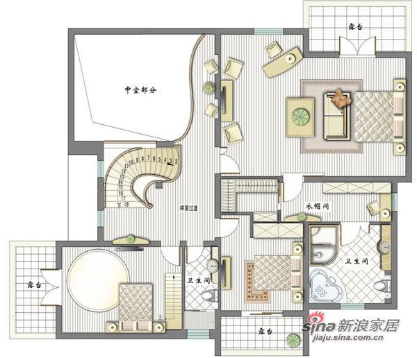 二楼设计全景图