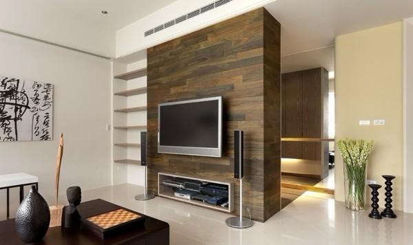 客厅和电视背景墙