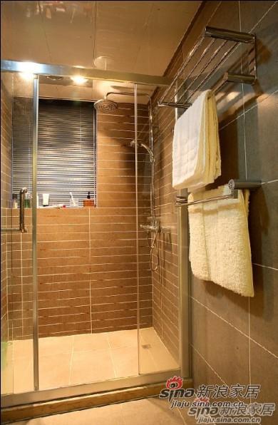 欧式 四居 卫生间图片来自用户2557013183在14万装130㎡欧式雅致美家19的分享
