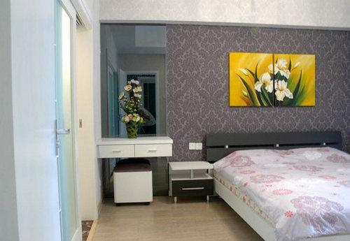 简约 三居 卧室图片来自用户2738093703在132平米薰衣草清新家居3居室63的分享