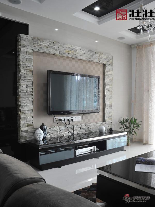 客厅电视背景和电视柜