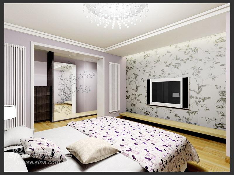 简约 三居 卧室图片来自用户2738093703在白领一族最爱的时尚简约家居设计62的分享