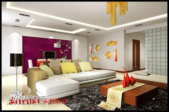 简约 一居 客厅图片来自用户2556216825在怀柔镜春园复式33的分享