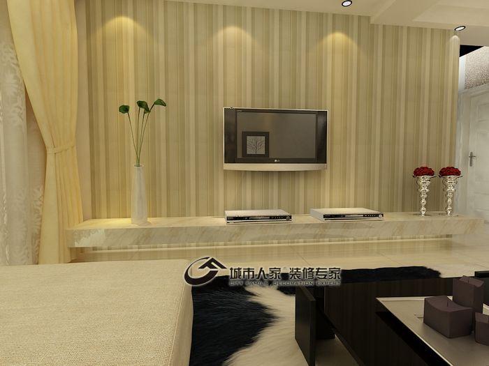 简约 复式 客厅图片来自城市人家犀犀在60平米简约复式20的分享