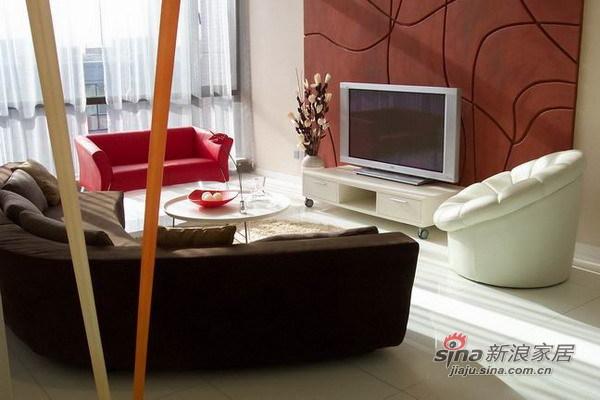 简约 三居 客厅图片来自用户2557010253在望京大西洋新城165平米三居室实景爱家37的分享