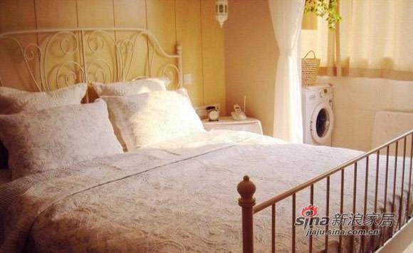 简约 二居 卧室图片来自用户2738813661在10万打造51平超梦幻老公房16的分享