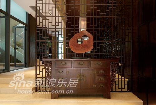 中式 别墅 玄关图片来自wulijuan_16在春亭装潢 新中式滨海御庭T1型别墅67的分享