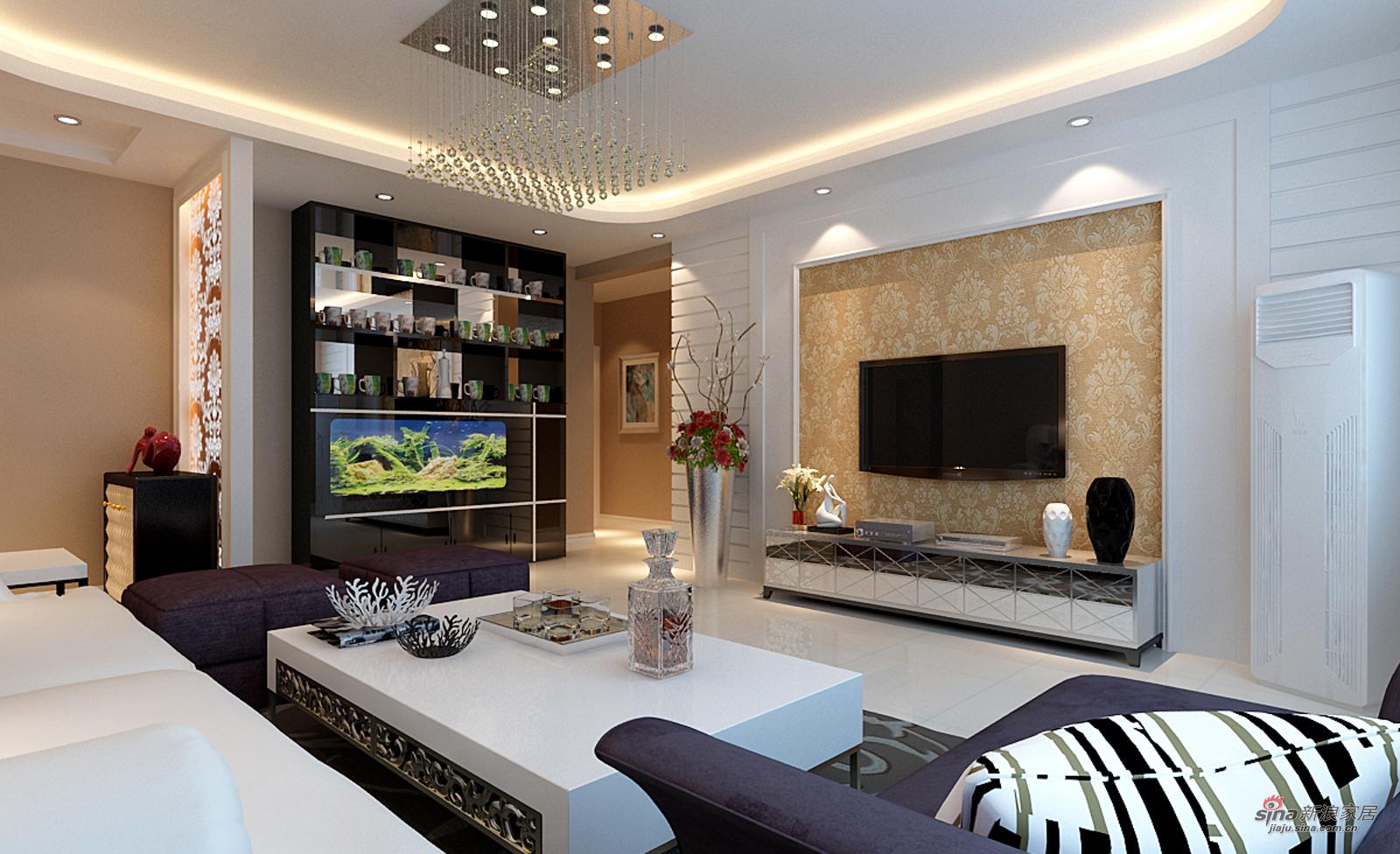 欧式 四居 客厅图片来自用户2745758987在我的专辑396919的分享