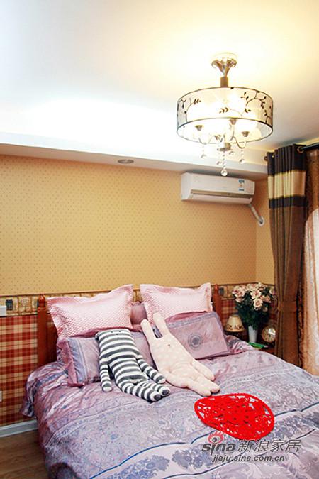 地中海 一居 卧室图片来自用户2756243717在混搭女8万装64平地中海田园家75的分享