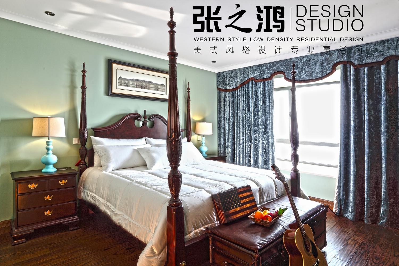 美式 二居 卧室图片来自用户1907686233在【高清】220平品味环岛凯尔顿传统美式风格25的分享