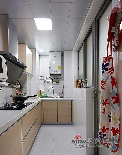 混搭 二居 厨房图片来自装修微日记在【高清】92平暖暖宜家简约风格空间57的分享
