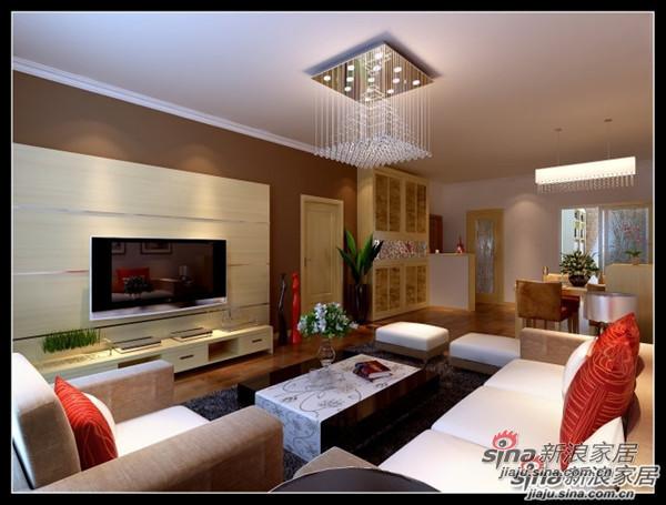简约 二居 客厅图片来自用户2737782783在6.6万打造100平米古朴典雅的简约设计30的分享