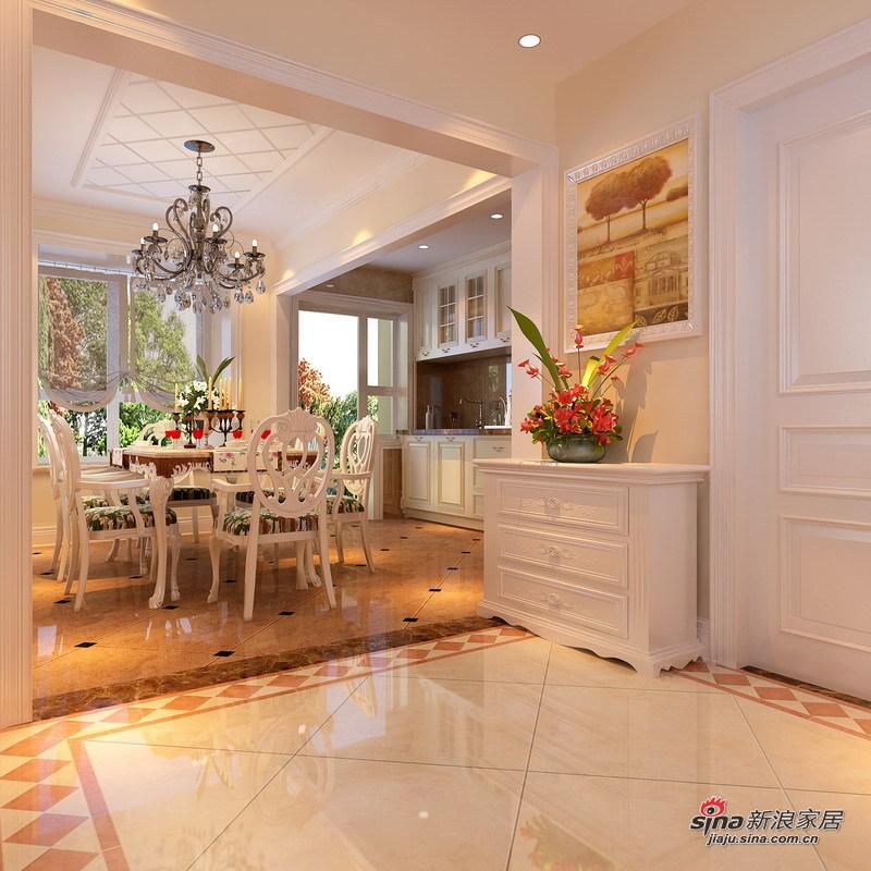 田园 三居 厨房图片来自用户2557006183在120㎡老房改造自然宜家田园风格3居室98的分享