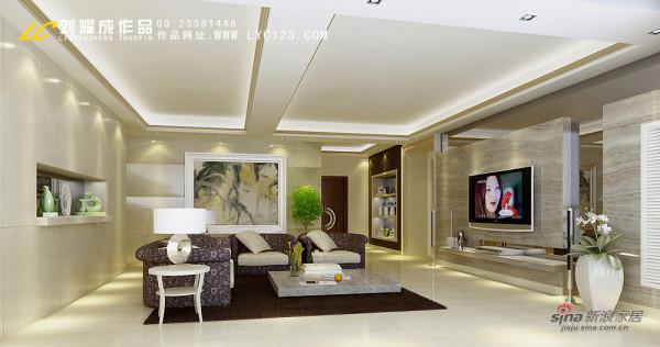 欧式 复式 客厅图片来自用户2746889121在270平君悦香邸--天下无双53的分享