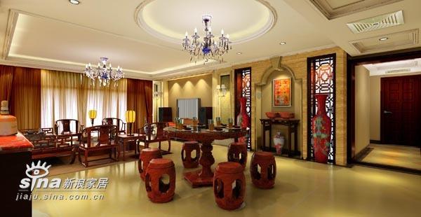 中式 三居 餐厅图片来自wulijuan_16在新中式设计案例75的分享