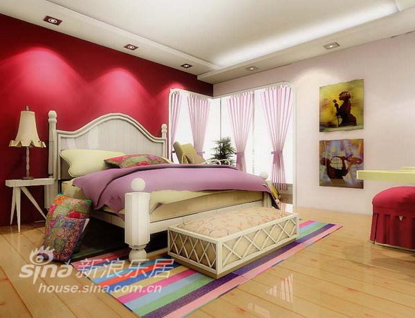 简约 三居 卧室图片来自用户2737782783在国风北京48的分享