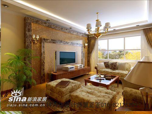 欧式 二居 客厅图片来自用户2772856065在石油大院2期74的分享