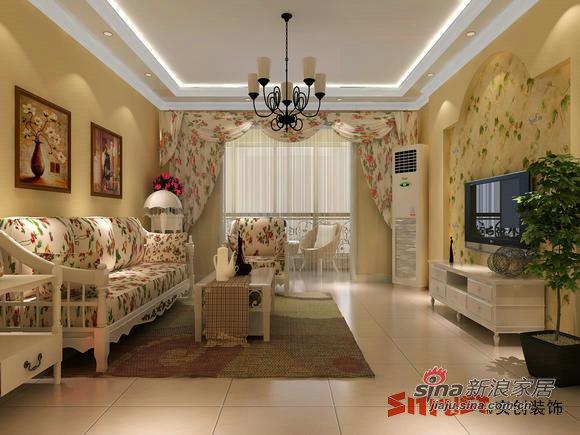 田园 二居 客厅图片来自用户2557006183在80后小两口花7万元打造自己最爱120平的田园风40的分享