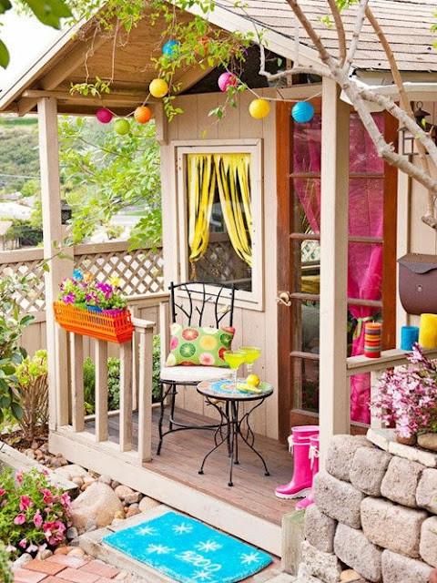 花园露台的设计