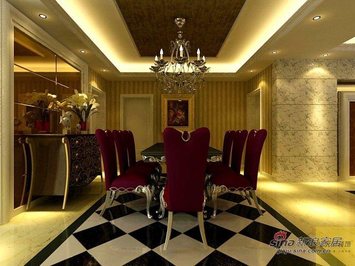 欧式 二居 餐厅图片来自用户2746889121在简欧风格22的分享