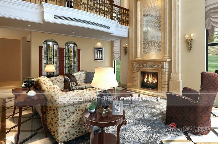混搭 别墅 客厅图片来自用户1907655435在佘山东郡别墅装修—欧式混搭风格59的分享