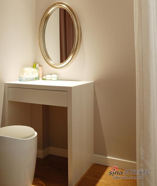 现代 二居 卧室图片来自装修微日记在【高清】新婚夫妻90平现代暖色调两居18的分享