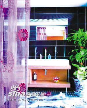 简约 四居 卫生间图片来自用户2557010253在神秘紫色营造浪漫居室52的分享