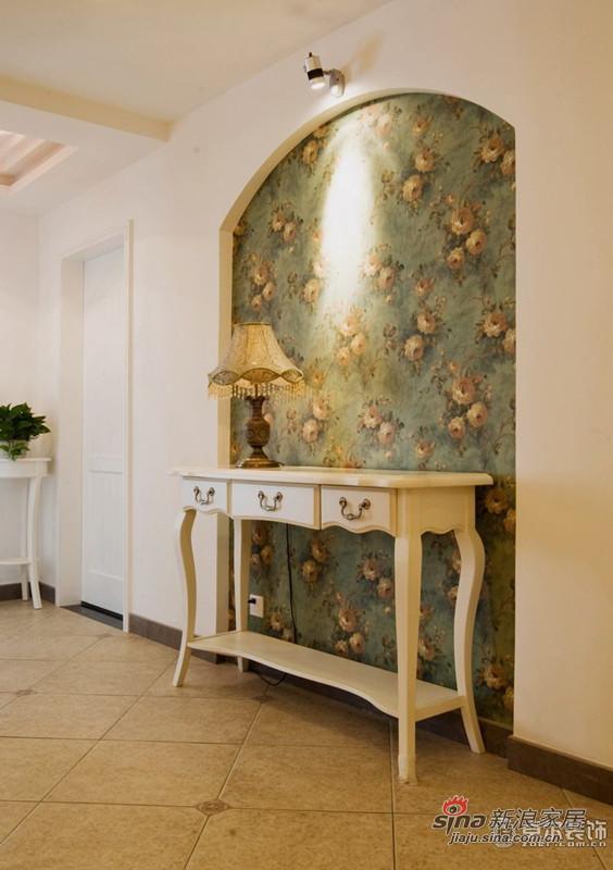 浪漫欧式装修玄关设计装饰