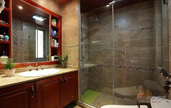 卫生间复古设计