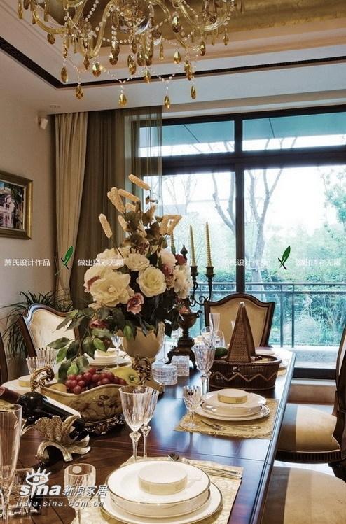 欧式 别墅 餐厅图片来自用户2746953981在在温馨中尽显东方(一)33的分享
