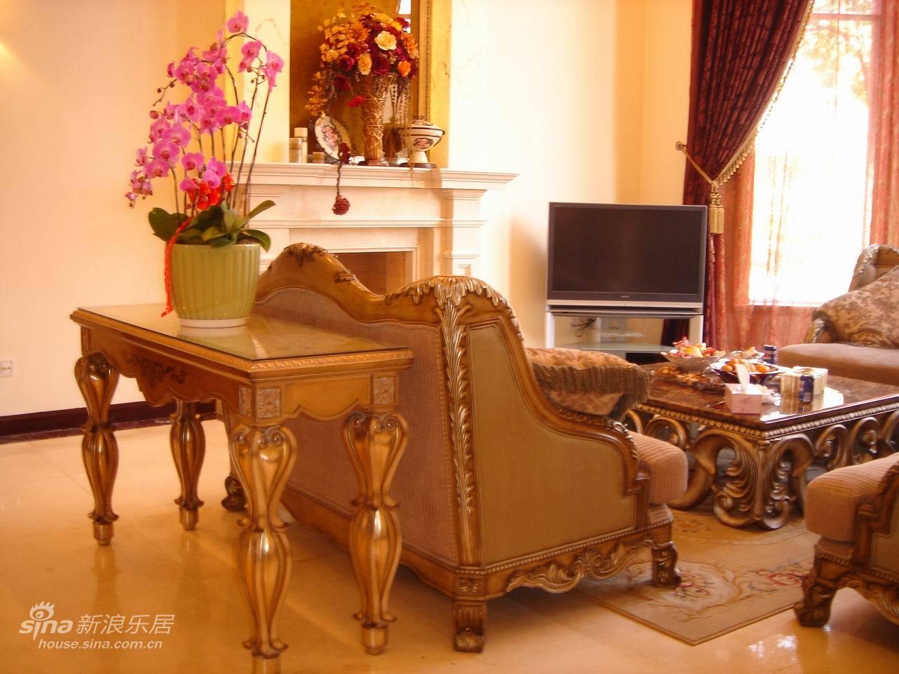 欧式 别墅 客厅图片来自用户2746948411在汤臣别墅55的分享