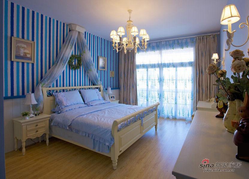 混搭 二居 卧室图片来自用户1907689327在20万搞定豪华地中海混搭田园二居室42的分享