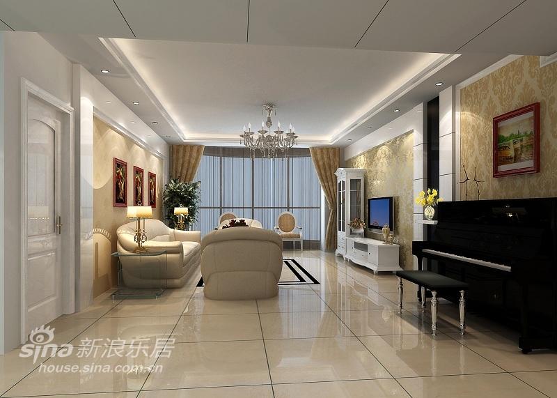 欧式 四居 客厅图片来自用户2745758987在现代简欧的新风情67的分享