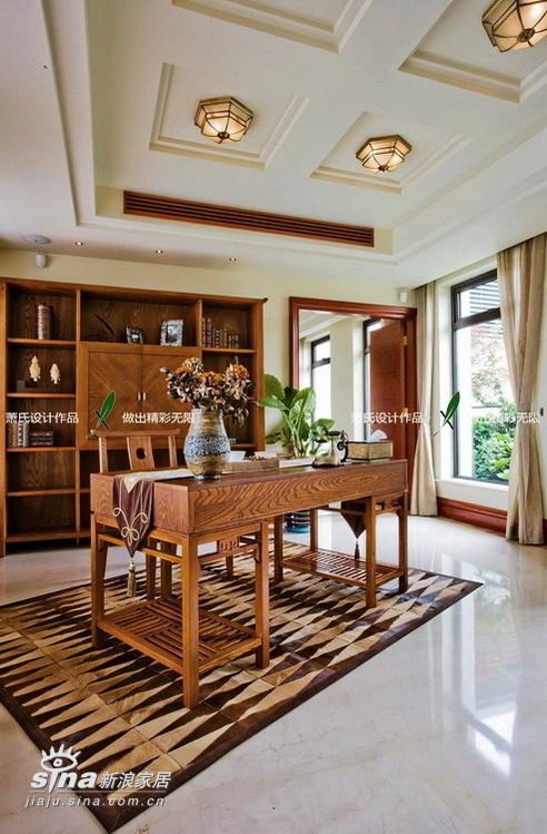 简约 别墅 书房图片来自用户2738820801在真正的豪宅江南华府(下)99的分享