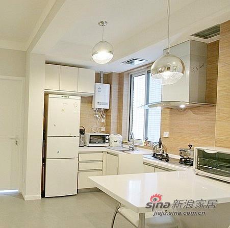 混搭 二居 厨房图片来自用户1907655435在79平小资女的现代创意生活88的分享