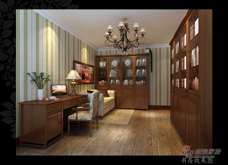 其他 二居 书房图片来自用户2558746857在87平美式混搭两室一厅34的分享