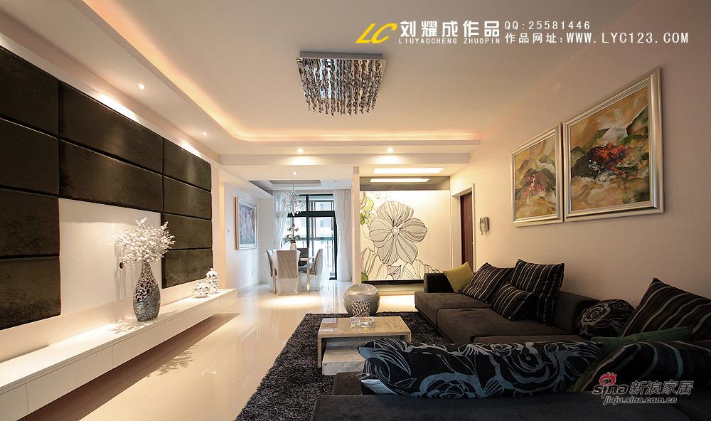 简约 四居 客厅图片来自用户2738813661在生如夏花78的分享