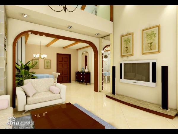 简约 三居 客厅图片来自用户2745807237在顺驰领海 (挑高层居室)65的分享