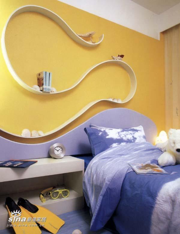 简约 复式 儿童房图片来自用户2737782783在现代都市生活净土55的分享