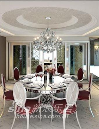欧式 三居 餐厅图片来自用户2557013183在温歌华森林 华丽欧式风14的分享