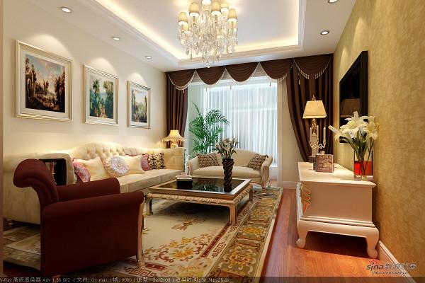 5.6万打造幸福汇两居室欧式风格装修效果