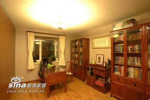 中式 复式 书房图片来自用户2740483635在打造158平米家居空间60的分享