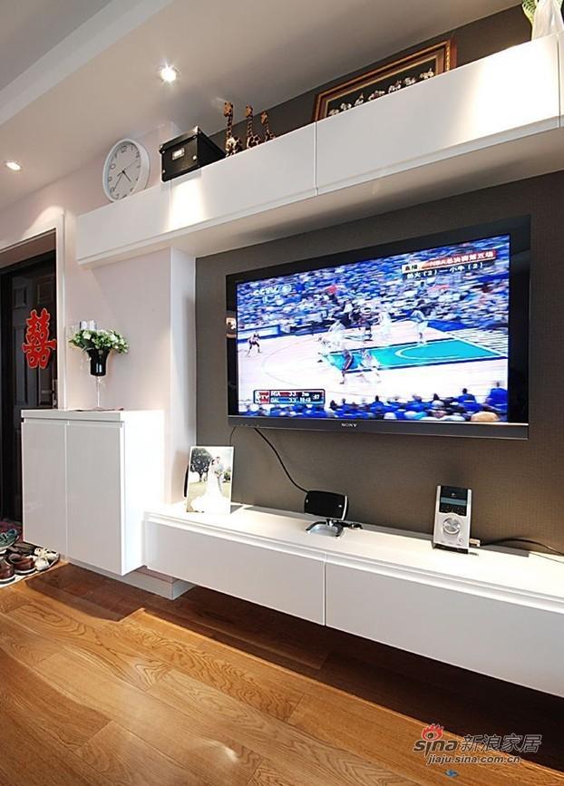 简约 三居 客厅图片来自用户2738820801在12万两房一厅可爱温馨三口之家91的分享