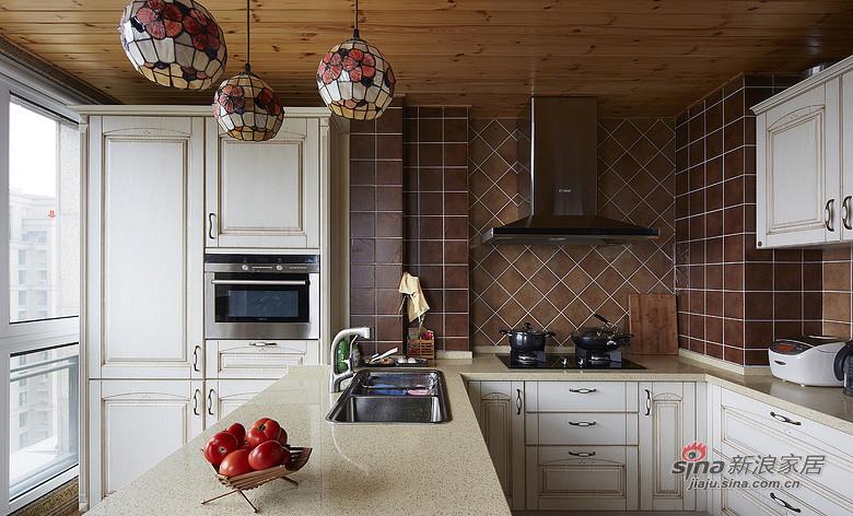 混搭 三居 厨房图片来自装修微日记在【高清】9万打造136平简约混搭三居室16的分享
