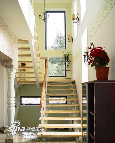 简约 别墅 楼梯图片来自用户2738093703在浪漫满屋温馨韩式家居实景60的分享